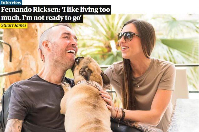 The Guardian ha raccontato la storia di Fernando Ricksen (immagine di Goffe Struiksma), ex calciatore affetto dalla malattia del motoneurone
