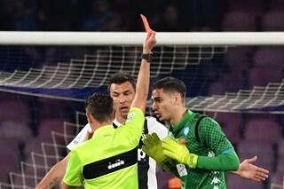 Napoli-Juve, perché il designatore Rosetti dà ragione a Rocchi sull'episodio Meret-CR7