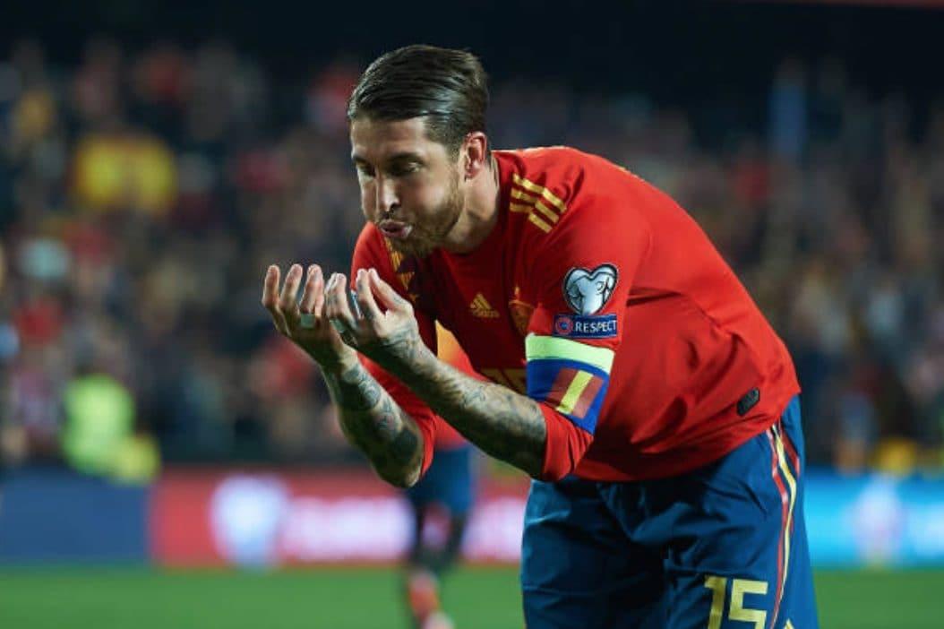 Sergio Ramos bomber vero: 16 gol in stagione, 5 di fila con la Spagna