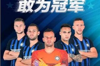"""L'Inter """"silura"""" Icardi: niente foto sulla locandina di Suning per il mercato asiatico"""