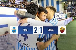 Fares e Petagna danno il primo dispiacere a Ranieri: Roma battuta 2-1 dalla Spal