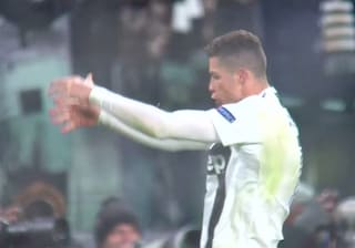 L'esultanza di Ronaldo: mostra los huevos come Simeone, anche la Juve ha gli attributi