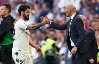 Zidane torna e il Real Madrid ritrova il successo, 2-0 al Celta: gol di Isco e Bale