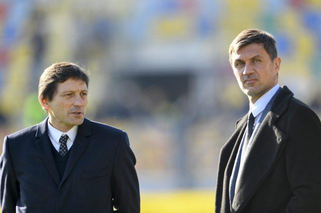 Leonardo e Maldini a Milanello: discorso alla squadra prima dell'allenamento