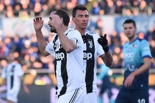 Juventus, ultime notizie: Chiellini e Mandzukic non convocati per il ritorno con l'Ajax