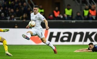 """Eintracht, riscattato Jovic dal Benfica: il club lo ha pagato """"solo"""" 7 milioni di euro"""