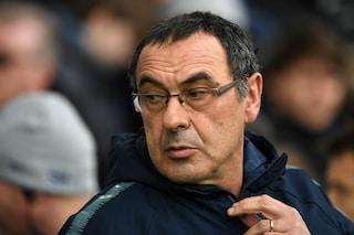 """Sarri: """"E io non sarei da Europa? Mi spiace per il Napoli, avrei voluto affrontarlo in finale"""""""