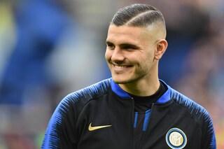 """Inter, Wanda Nara e il futuro di Icardi: """"Ora è sereno, saremo qui anche l'anno prossimo"""""""