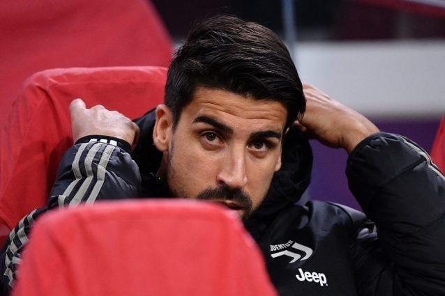 Juventus, altro stop per Khedira: operazione al ginocchio, stagione finita