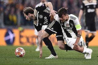Juventus, ultime notizie sugli infortuni: Dybala può saltare 3 partite
