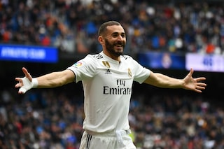 Real Madrid, Benzema ne fa 3 all'Athletic: ora è vicino al suo record personale di gol