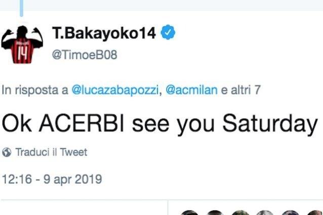 Battibecco Landucci (vice di Allegri)-Gattuso. Il tecnico del Milan: