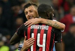 """Acerbi abbraccia Bakayoko su Instagram: """"Basta polemiche"""""""