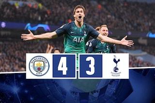 Llorente e il Var eliminano il City: il Tottenham vola in semifinale di Champions League