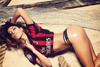 Chi è Mila Suarez, la modella e fashion blogger, tifosa del Milan, fa impazzire il GF16