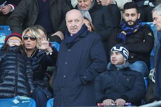 """Inter, Marotta allontana Conte: """"Fiducia a Spalletti"""". E su Icardi: """"E' un patrimonio"""""""