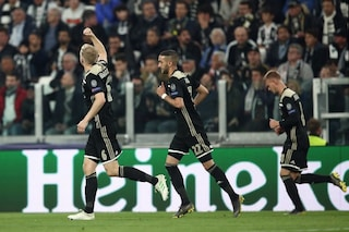 Juve resa incondizionata: il calcio totale dell'Ajax boccia Allegri in Champions