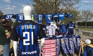 """Inter, il sogno di mercato è Dybala: già in vendita la maglia numero 21 della """"Joya"""""""