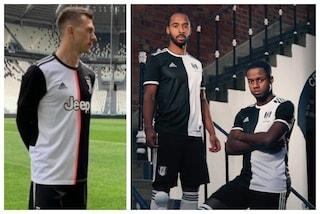 La nuova maglia 2019-2020 della Juventus: sembra il Fulham o la Contrada della Lupa