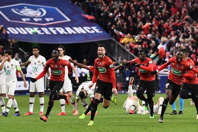 Coppa di Francia a sorpresa: vince il Rennes, Psg ko ai rigori