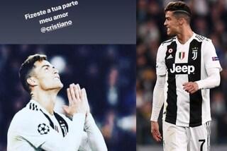 """Cristiano Ronaldo tace dopo la delusione. La sorella Katia: """"Tu hai fatto la tua parte..."""""""