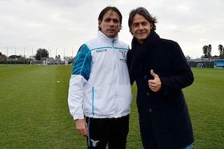 """Pippo Inzaghi dimentica l'Inter: """"In Champions spero vadano sia il Milan che la Lazio"""""""