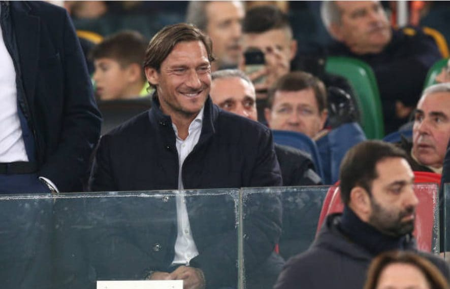 Totti è il direttore generale della Roma.