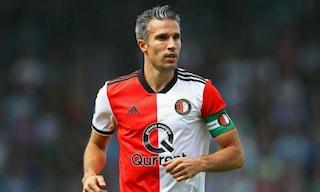 "Feyenoord, van Persie stuzzica la Juve: ""Noi l'avremmo battuta 11-2"""