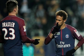 """Psg: """"Passa la palla"""", """"Chi sei per parlarmi così?"""" Rissa sfiorata tra Neymar e Draxler"""