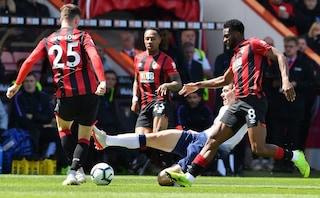 Follia Tottenham, Son e Foyth espulsi: sconfitta pesante contro il Bournemouth