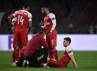 Ramsey infortunato, stagione finita: addio all'Arsenal senza giocare, rientra con la Juve