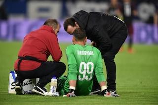 Infortunio Donnarumma: lesione al bicipite femorale, salta le sfide con la Nazionale