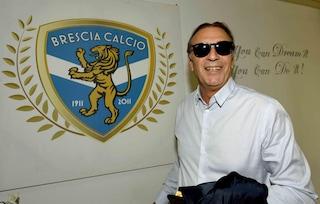 """Brescia in Serie A, l'impresa di Cellino e la commozione di Corini: """"Un'emozione grande"""""""