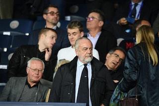 """De Laurentiis: """"De Rossi al Napoli? Lo prenderei subito. Allegri andrà al Psg o al Bayern"""""""