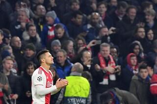 """Ajax, Dusan Tadic torna sull'eliminazione in Champions: """"Ho pianto ogni ora quella notte"""""""