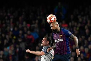 """Champions, Barça e Vidal a un passo dalla finale: """"Deluso dalla Juve eliminata dall'Ajax"""""""