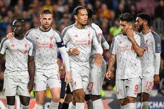 Liverpool, contro il Barcellona serve un miracolo: la quota per una rimonta storica