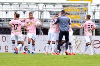 Serie B, 35a giornata: Palermo a -1 dal Lecce, Venezia pareggio vista salvezza