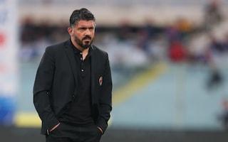 """Milan, Gattuso: """"La corsa Champions? Ci crediamo ancora"""""""