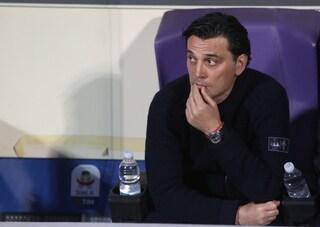 Fiorentina, dimezzata la squalifica a Montella che salta comunque la sfida al Genoa