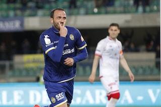 Serie B, Verona-show: ai supplementari spazza via il Perugia