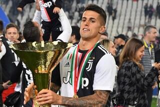 Juventus, infortunio al naso per Joao Cancelo e intervento chirurgico