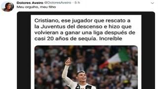 """Cristiano Ronaldo, la gaffe della mamma: """"Ha salvato la Juventus dalla retrocessione"""""""