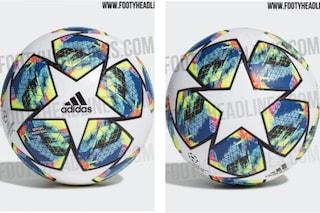 Champions League 2019/2020, svelato il nuovo pallone