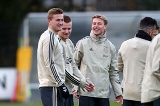 Calciomercato Ajax, le ultime notizie sulle trattative in uscita: de Jong e de Ligt