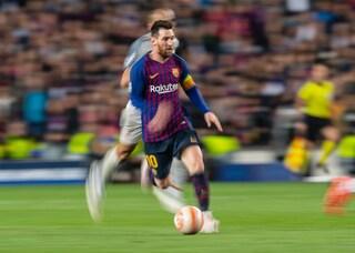 """Anche Mancini innamorato di Messi: """"E' ai livelli di Maradona"""""""
