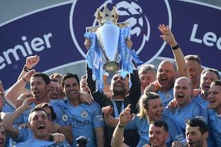 """Manchester City, Guardiola: """"Il mio titolo più difficile. Ma grazie al Liverpool e a Klopp"""""""
