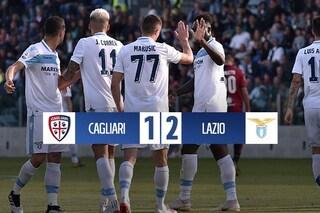 Luis Alberto più Correa: la Lazio passa a Cagliari e vede l'Europa League