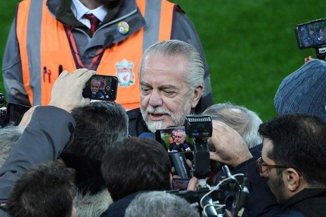 Tifosi Juve contro De Laurentiis: parole offensive