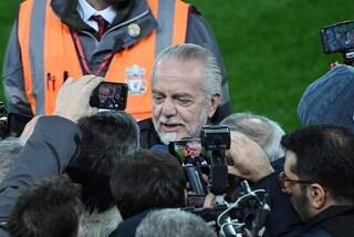 """De Laurentiis: """"Ho detto no a 900 milioni per il Napoli. Quagliarella? Può tornare"""""""